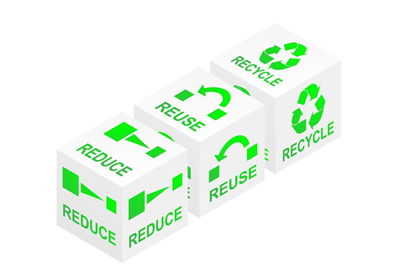 Comparing Recycling and Reuse