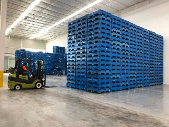 CHEP Container Management Facility To Reduce Logistics Costs and Packaging Waste for Automotive Suppliers