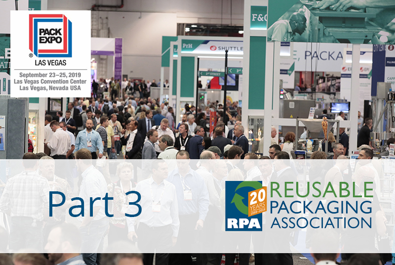 Preview the RPA Pavilion at Pack Expo 2019: Part 3