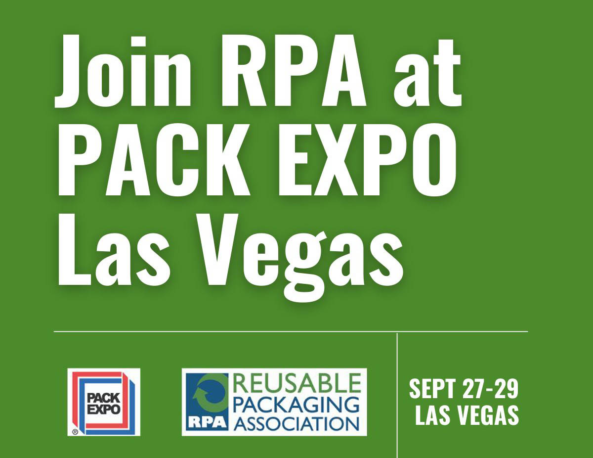 Preview the Reusable Packaging Pavilion at PACK EXPO Las Vegas 2021
