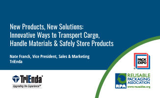 Innovative Ways to Transport Cargo, Handle Materials & Safely Store Products