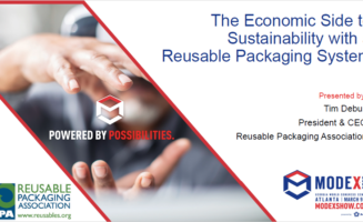 The Economic Side to Sustainability with a Reusable Packaging System