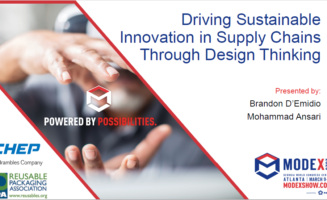 Driving Sustainable Innovation in Supply Chains Through Design Thinking