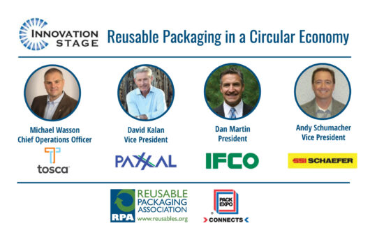 Reusable Packaging in a Circular Economy: Panel Discussion at PACK EXPO Connects 2020