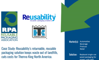 Case Study: Reusability's returnable, reusable packaging solution keeps waste out of landfills, cuts costs for Thermo King North America