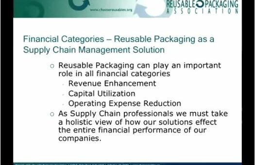 Financial Considerations for Reusable Packaging